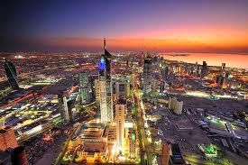 wonderful evening of kuwait city