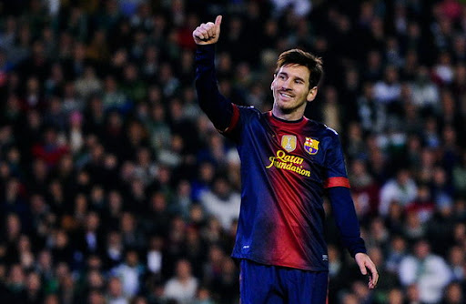 Barcelona forward Lionel Messi has beaten Gerd Müller's record of 85 goals in a calendar year