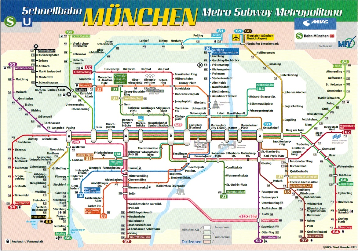 Map Cards Hunting 0171 Germany Metro Munich