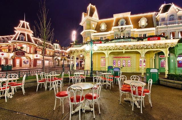Caseys Corner Restaurante Disney