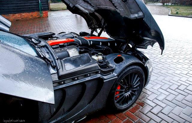 Mercedes SLR McLaren Engine