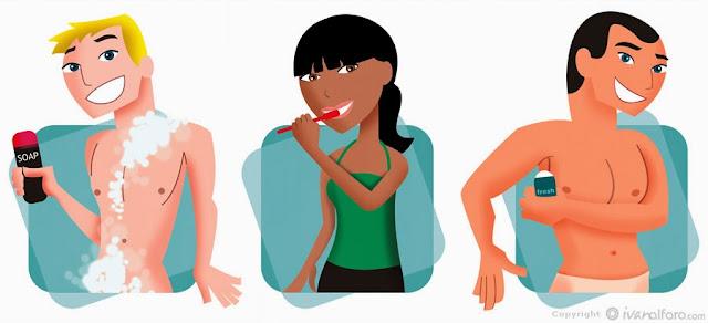 Imagenes De Baño Genital:informatica cobat 17: SALUD EN LOS ADOLECENTES