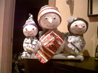 Fofuchas muñecos de nieve