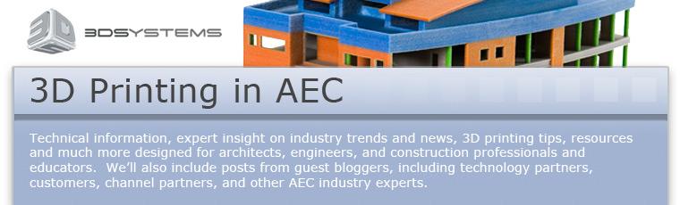3D Printing in AEC