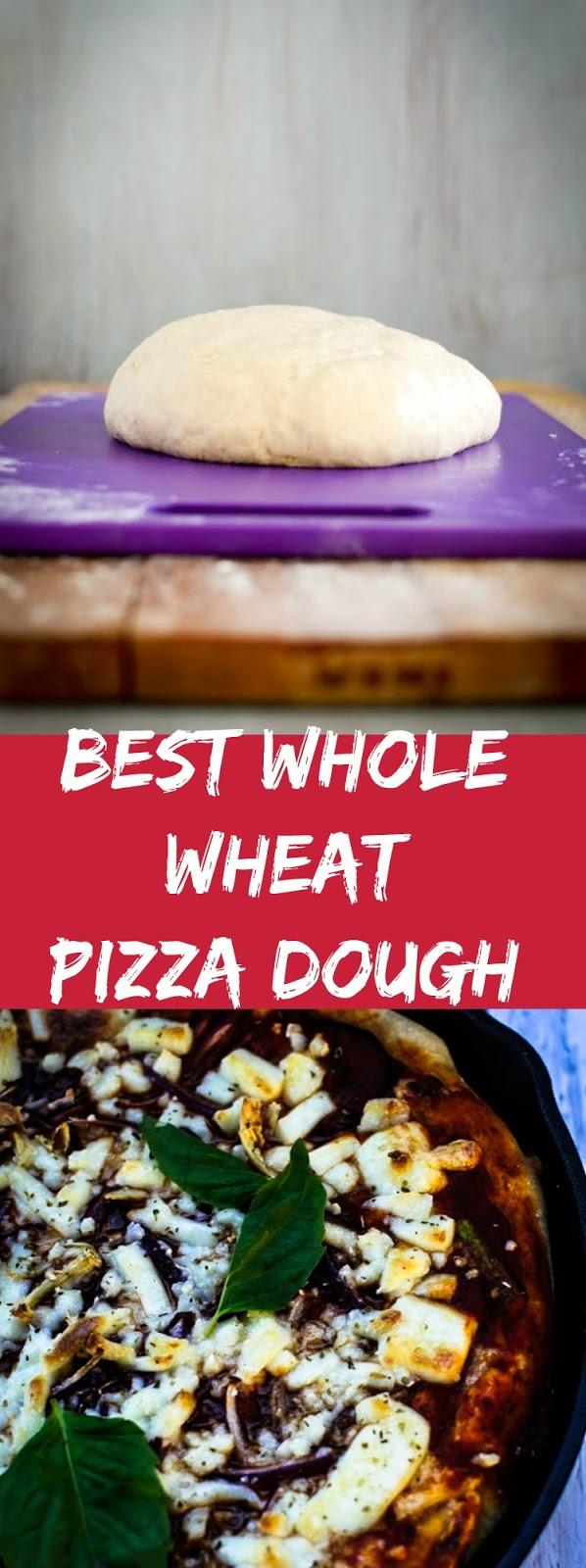 Best whole wheat pizza dough recipe forks n knives forumfinder Gallery