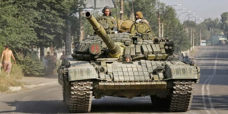 Rusia Kirim 15.000 Tentara ke Ukraina