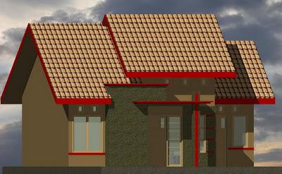 desain minimalis rumah type 64