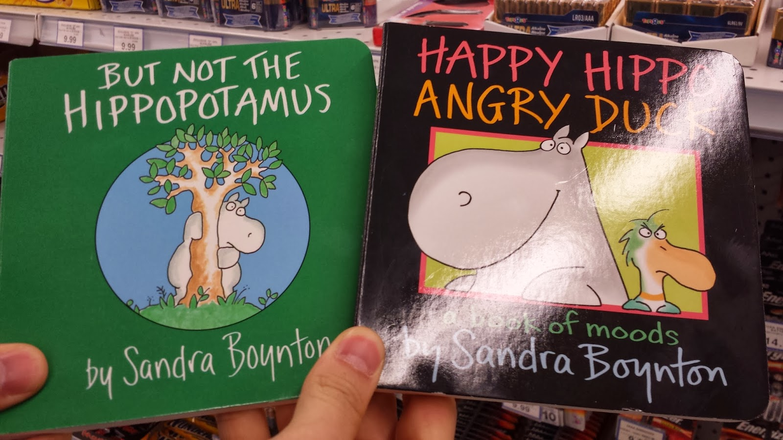Baby books by Sandra Boynton