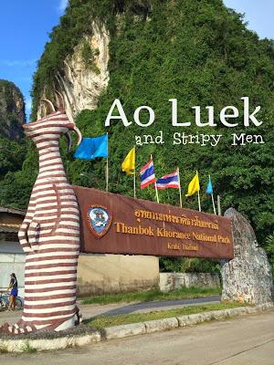 Ao Luek, stripy men, rak, Crazy little Family Adventure