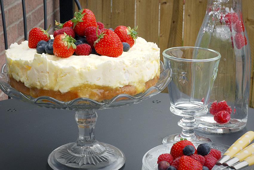 Lemon Meringue Freezer Cake – Forman & Field Jubilee Bake Off