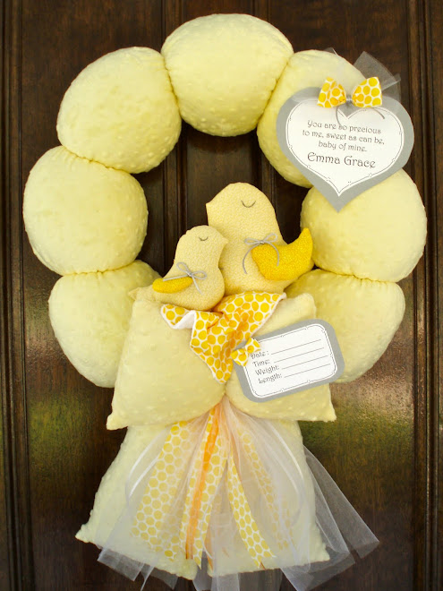 62. MiGi Sweet Sunshine Baby Wreath
