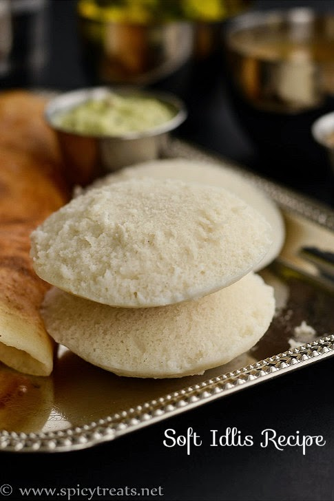 Idli using rice flour