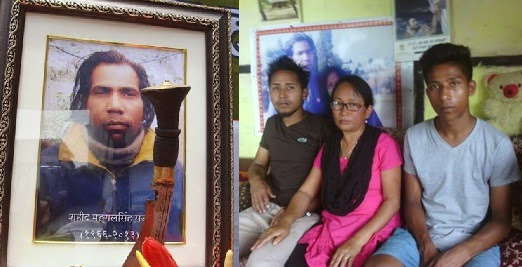 Gorkhaland martyr Mangal Singh Rajpoot's family lives in poverty