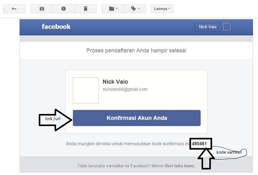 cara membuat akun facebook mengunakan email maupun melalui