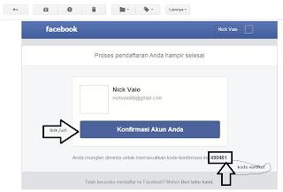 anda ingin login atau masuk akun facebook anda nantinya ada 2 cara