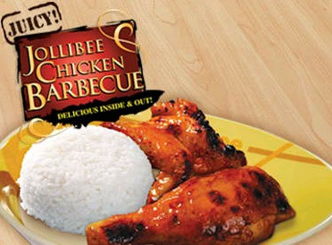 Jollibee menu: chicken barbecue