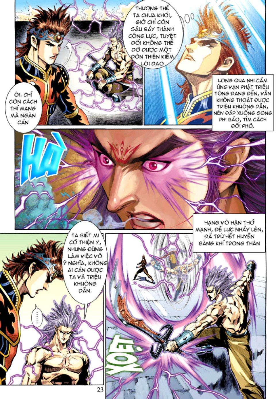 Thiên Tử Truyền Kỳ 5 - Như Lai Thần Chưởng chap 212 - Trang 23