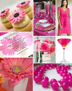 Popular Pink Bridal Shower Decorations