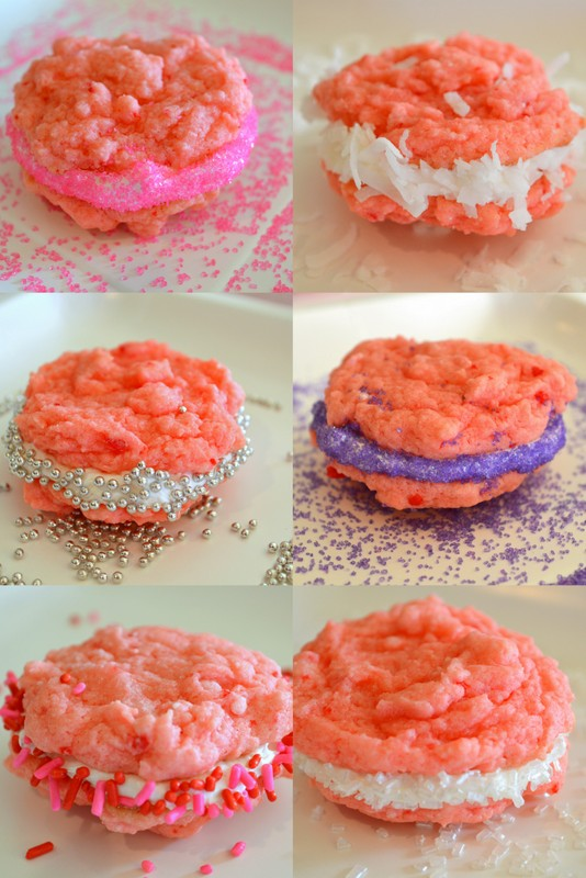 Cookin' Cowgirl: Strawberry Cake Mix Cookies