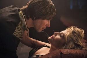 Mathieu Amalric y Emmanuelle Seigner en La Venus de las pieles