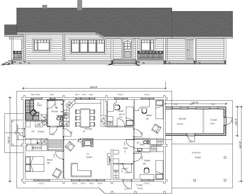 Viviendas unifamiliares arquitectura y construccion casa - Casas para familias numerosas ...