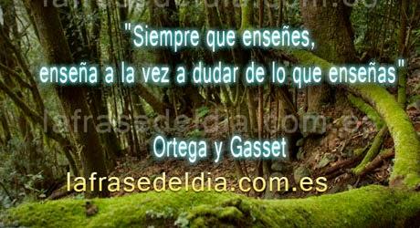 Frases de Ortega y Gasset