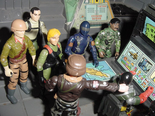 Quarrel, Undercover Scarlett, Convention Exclusive, European Exclusive, Action Force, Palitoy, Z Force, 1984 Clutch, 2001 Desert Striker, Steeler, Snake Eyes, Grunt, Stalker, Plastirama, Backstop, Argentina
