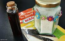 Esenta de vanilie si zahar vanilat