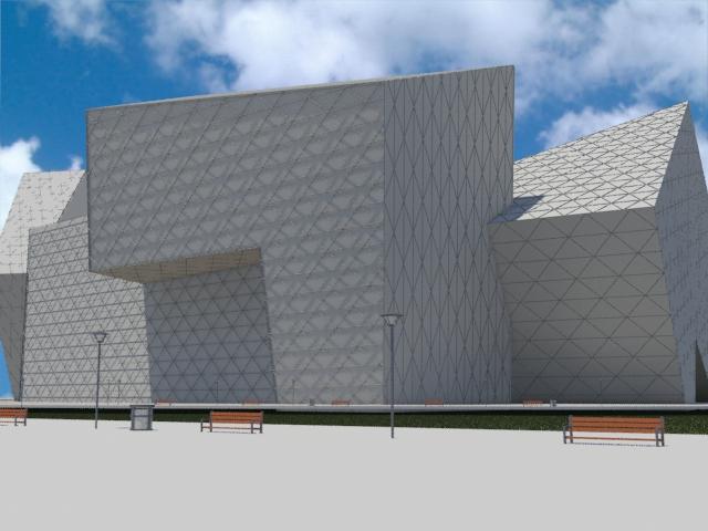 Proyecto Perth Arena, Visualización Digital