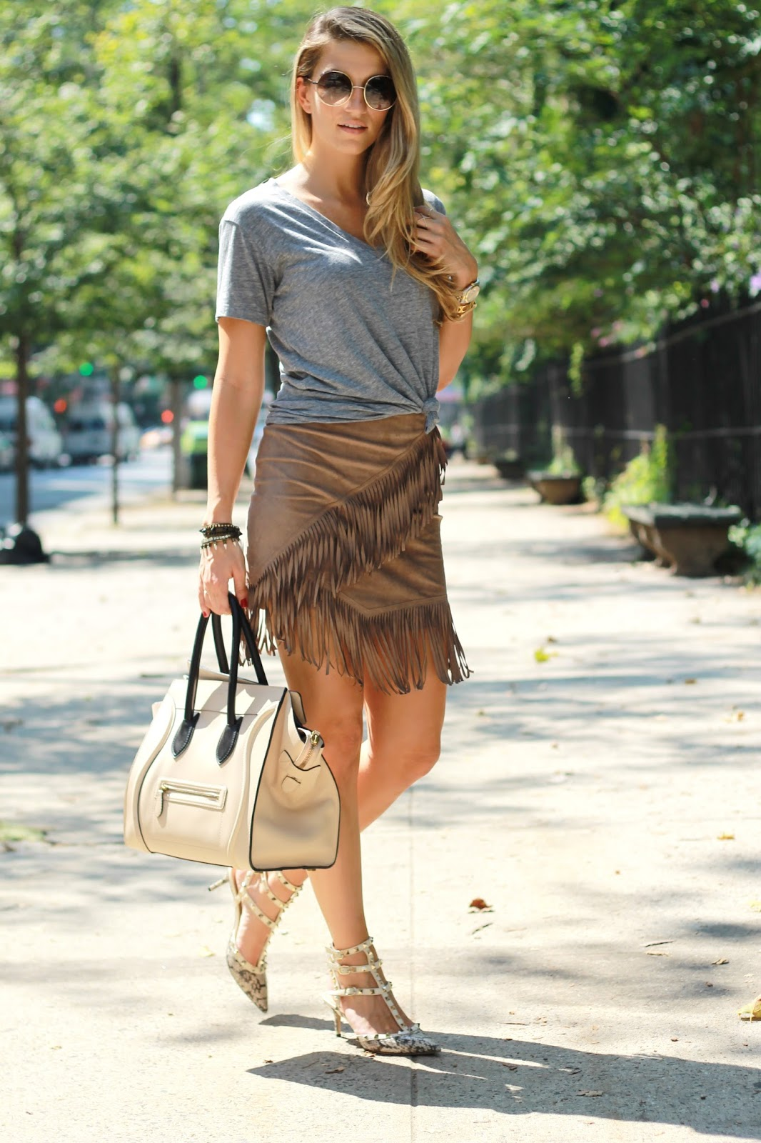 dressed for dreams in 1 state fringe skirt