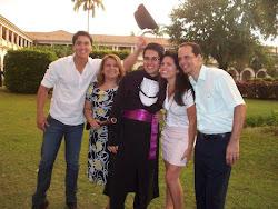 Pr Severino M. de Medeiros Neto e família