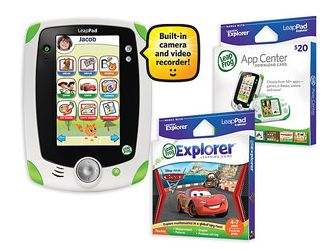 Walmart: LeapFrog LeapPad Explorer Tablet, App Card & Game As Low As $75.01