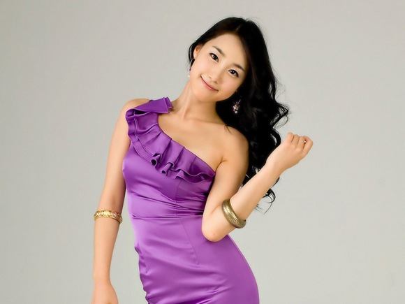 Girls Beauty Wallpaper Choi Ji Hyang 09