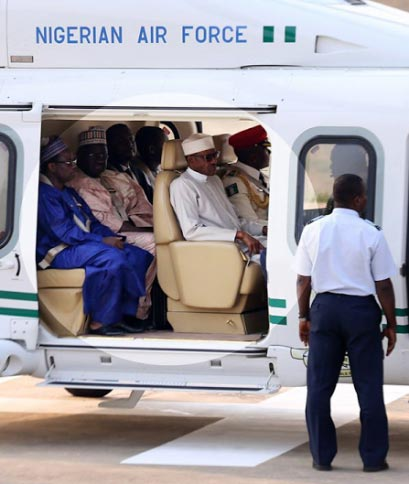 Buhari Departs Nigeria To Attend World Future Energy Summit At The UAE (Pics)