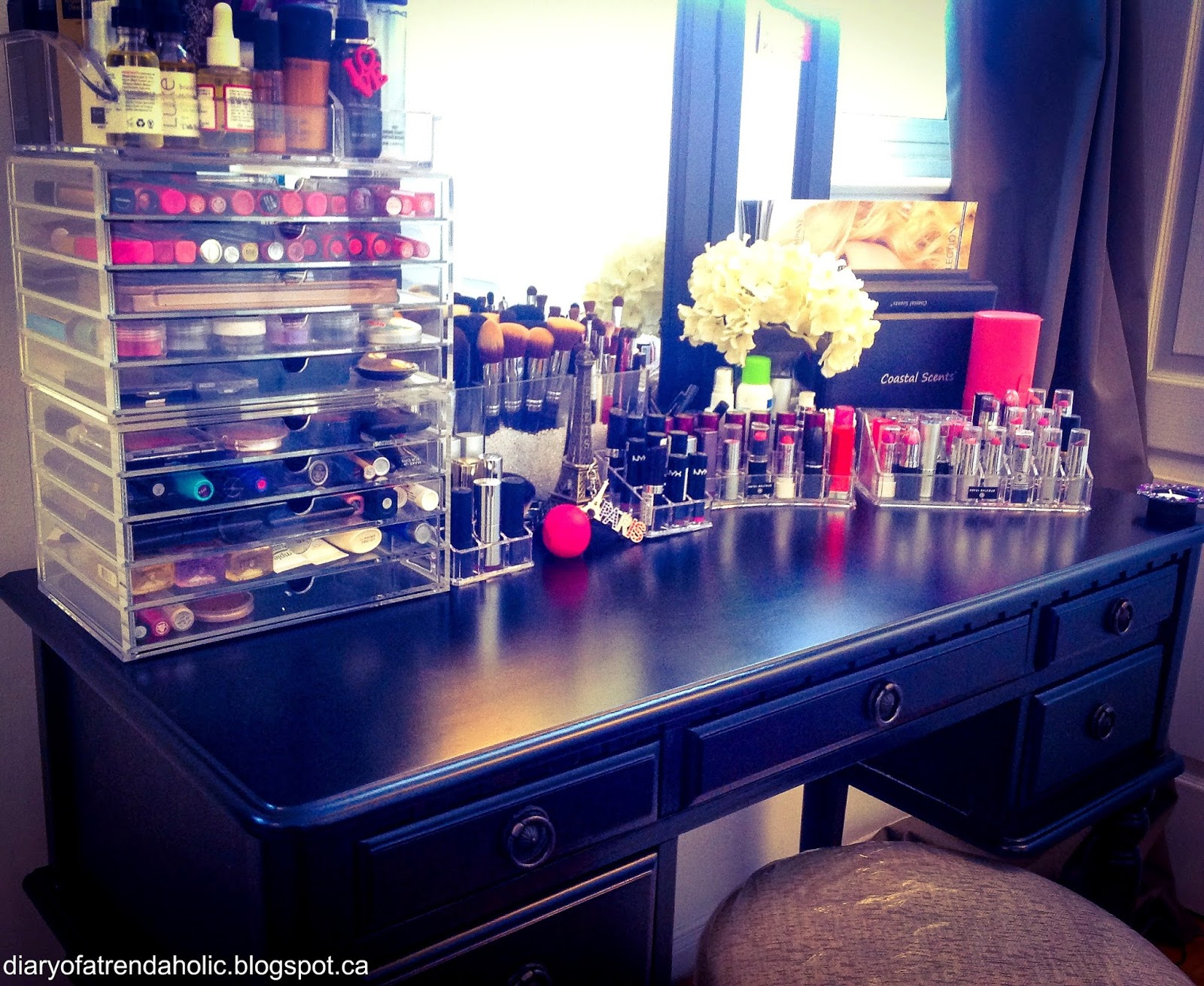 Diary Of A Trendaholic Makeup Storage And Organization