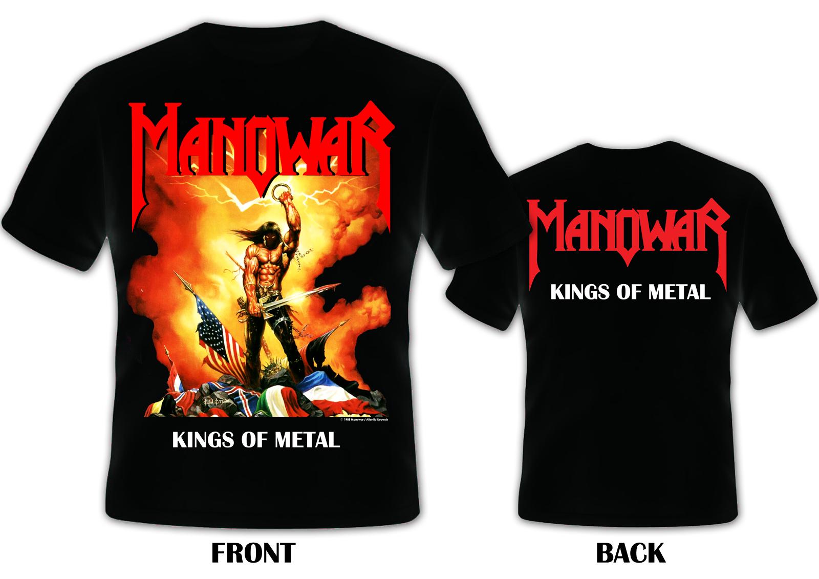 The Kingdom Of Steel - Official Online Store for MANOWAR