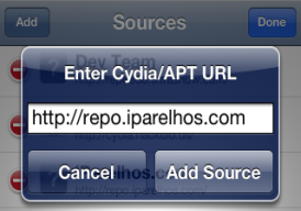 how to Add Repo IparelHos
