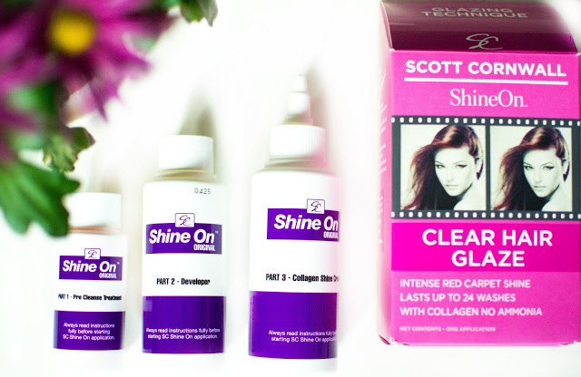 Scott Cornwall Shine On Clear Hair Glaze