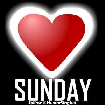 i love sunday gambar foto display profile dp bbm