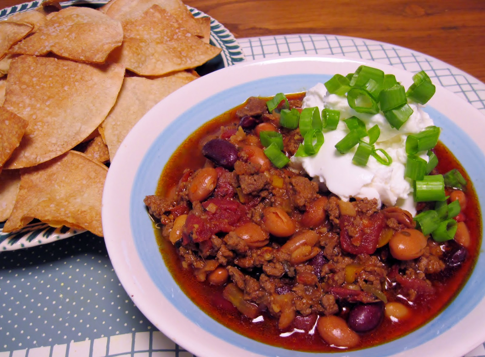 Five-alarm chili recipe
