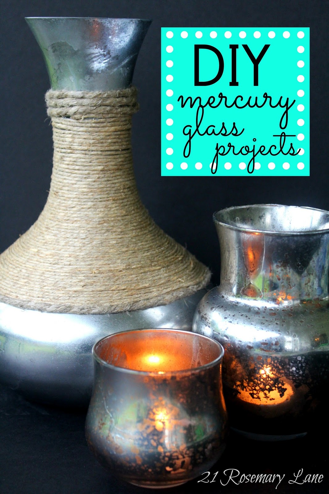 make your own mercury glass votives and vases - How To Make Mercury Glass