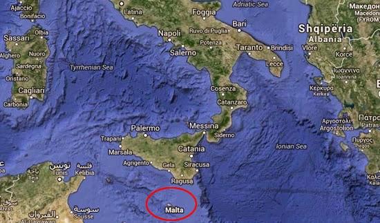 posizione sotto l'Italia