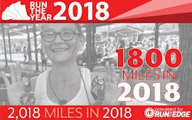 Run the Year 2018 - My latest badge