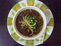 How to make Vegetable Manchow Soup Recipe