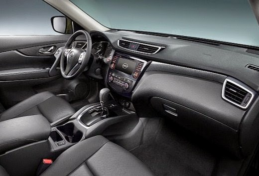 2015 Nissan X Trail Interior