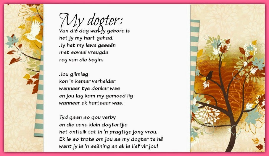 N Dogter My dogter