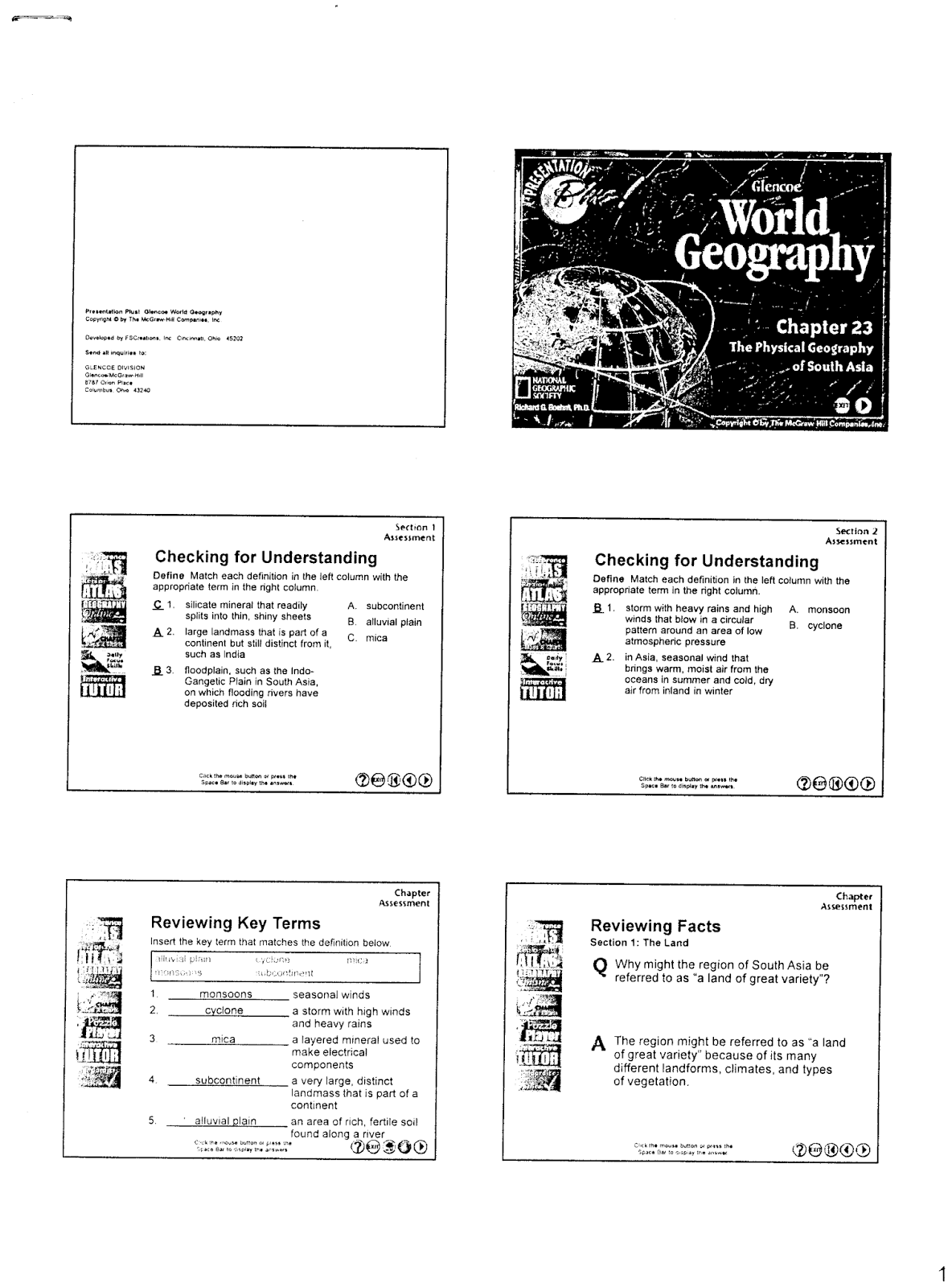 Worksheets Glencoe World Geography Worksheets glencoe world geography worksheets checks worksheet mr e s page chapter 23 the