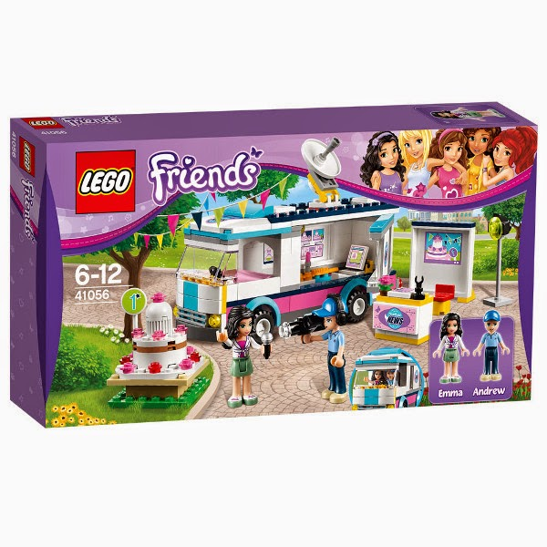 JUGUETES - LEGO Friends - 41056 La Unidad Móvil  Heartlake City | Toys | Producto Oficial | Edad: 6-12 años