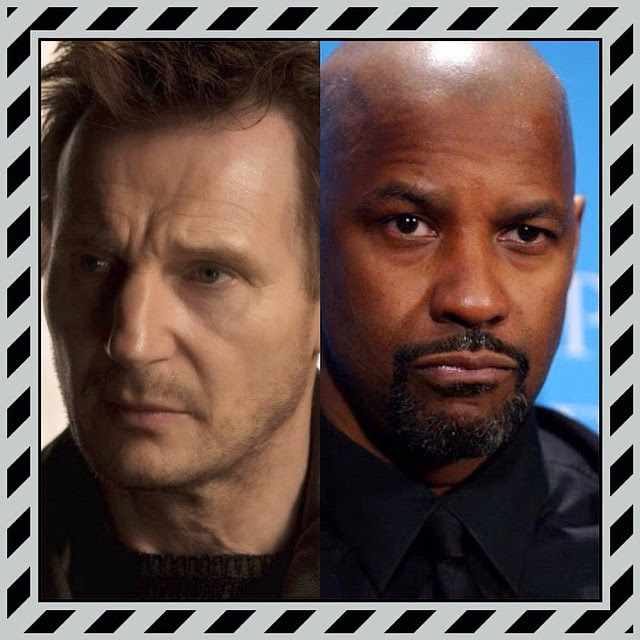 Liam Neeson and Denzel Washington