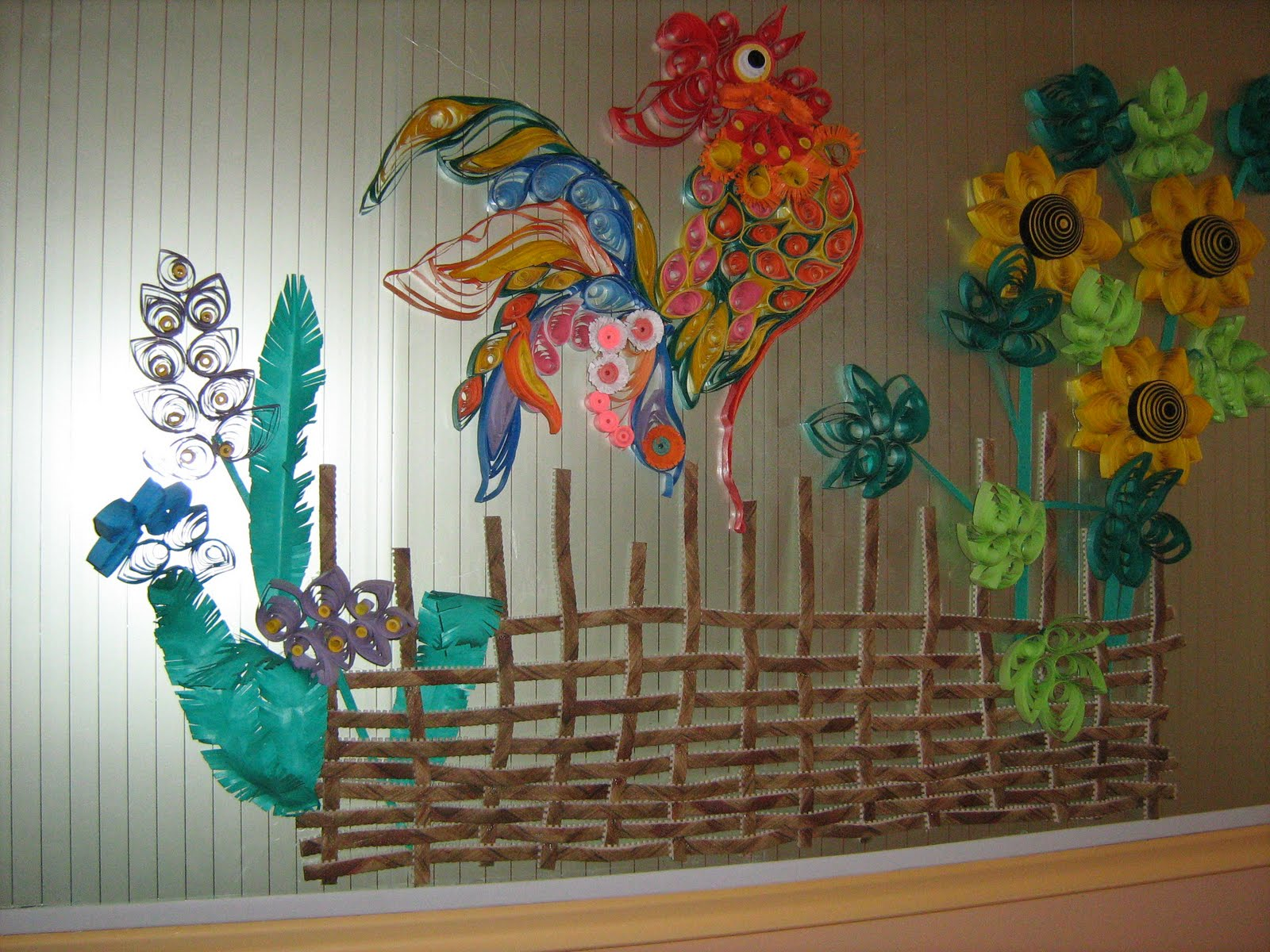 Оформление коридоров детского сада своими руками